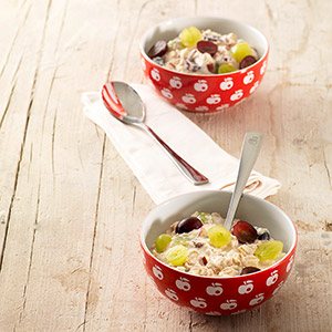 Traditional Bircher müesli