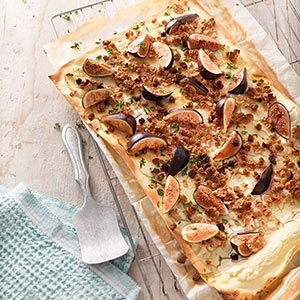 Fig tarte flambée