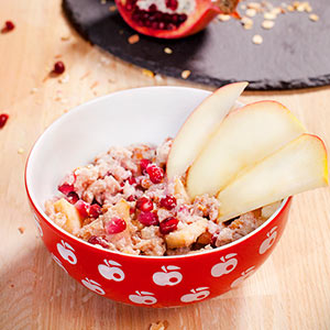 Pomegranate porridge
